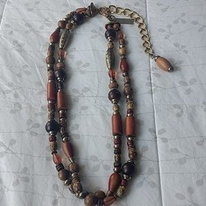 Earthy Statement Necklace